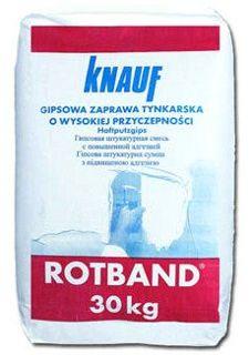 Tynk gipsowy o wysokiej przyczepności Knauf Rotband 30kg