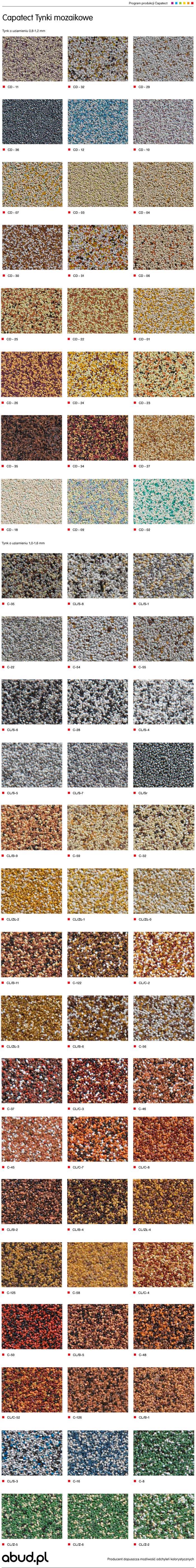 Caparol Mozaikowy Tynk Dekoracyjny 25 Kg Abud Materialy Budowlane