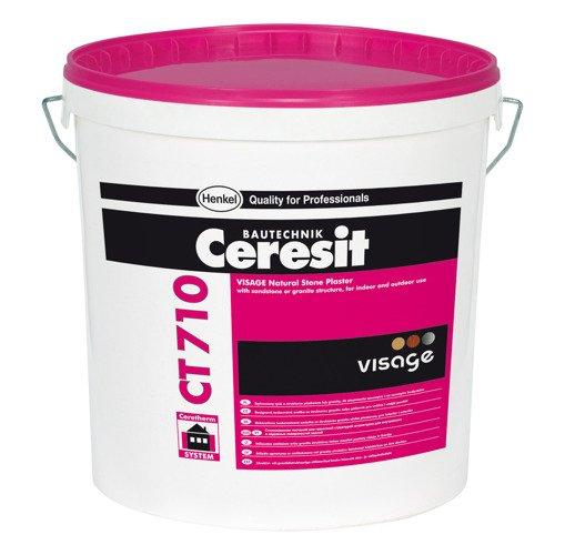 Ceresit Ct710 Visage Tynk Mozambic Graphite Abud Materialy Budowlane