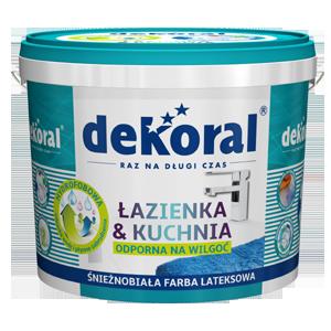 Farba Dekoral łazienka Kuchnia 5l