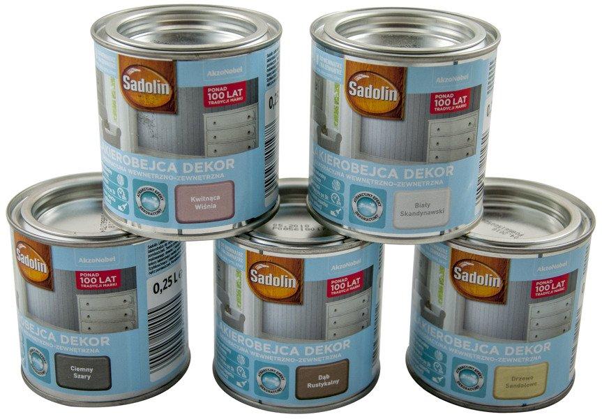Najnowsze Lakierobejca Dekor 0,25L Sadolin Pastelowy Błękit | ABUD GH77