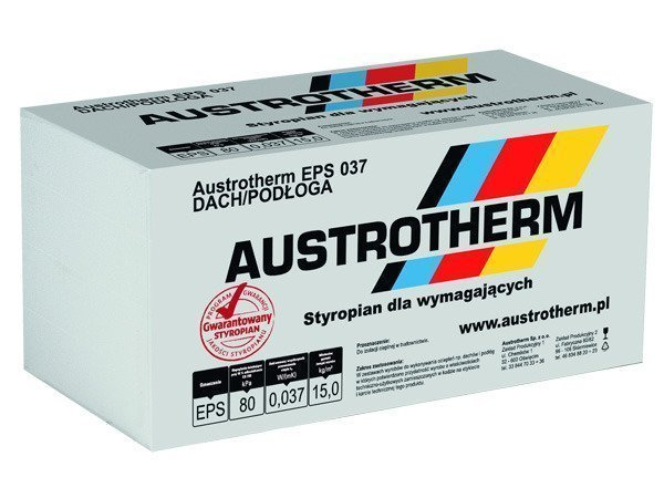 Styropian Austrotherm Eps 037 Dach Podloga 20cm 0 30m3 1 5m2
