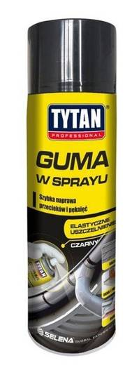Guma w sprayu 400ml Tytan