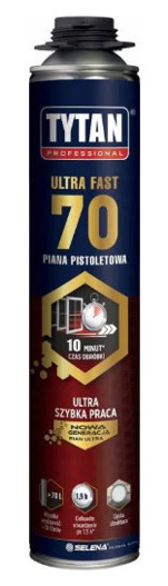 Piana pistoletowa Ultra 70 870ml Tytan