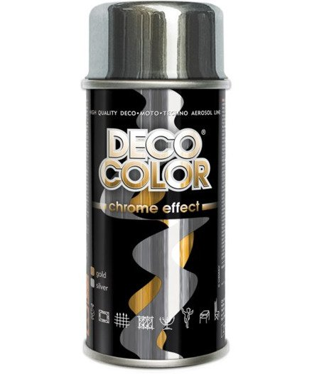 Spray Lakier srebrny Chrom 150ml DECO